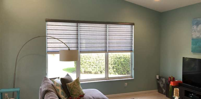 What are transitional shades and how do they work?