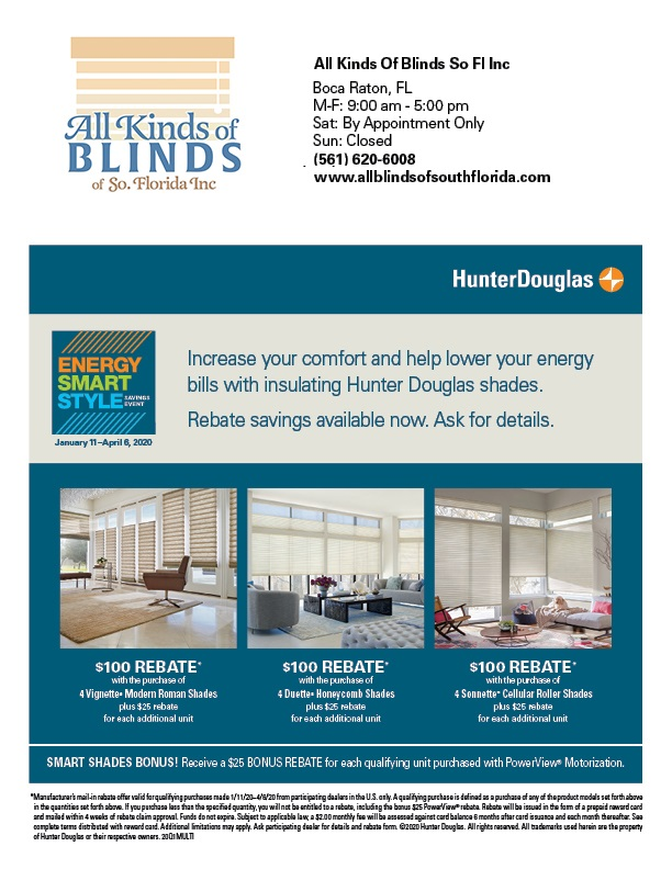 special offers - All Kinds of Blinds