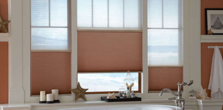 Which window treatments are best for the bathroom?